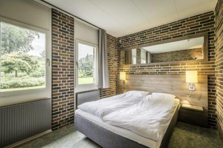 Dobbeltværelse på hotellet i Odense